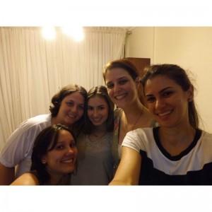Selfie da ocitocina! Equipe de Doulas em Londrina: Rosana, Lua, Marília e Lorena